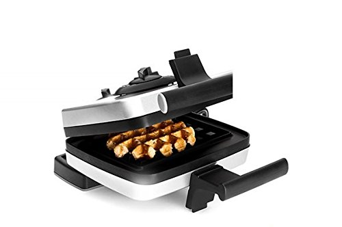 Great Deal! Croquade Belgian Waffle Maker Including Liège Waffle Plate (M001) and Traditional Us St...