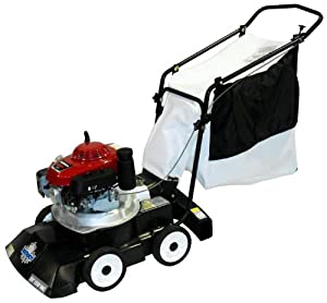 Patriot Products CVB-2455H 24-Inch Honda Gas Powered Walk Behind 3-In-1 Leaf Vacuum/Chipper/Blower