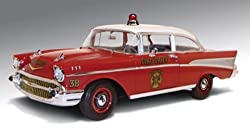 1957 Chevrolet Bel Fire Chief 1/18 by Highway 61 50902