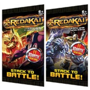 Redakai Card Game HOBBY Edition X-Drive Power Pack Booster Pack [11 Cards] - 1