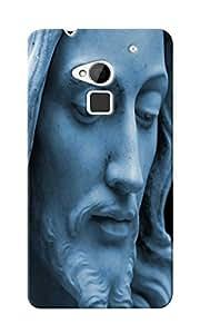 CimaCase Jesus Face Designer 3D Printed Case Cover For HTC One Max