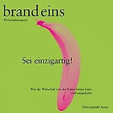 Erst nach dem Scheitern entsteht das Interessante (brand eins: Kunst) Hörbuch von Markus Albers Gesprochen von: Anna Doubek, Michael Bideller