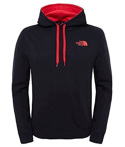 North Face M Seasonal Drew Peak Felpa con Cappuccio, Nero/Tnf Black, M