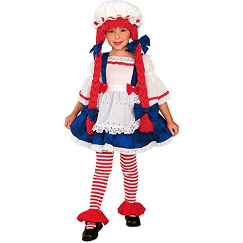 Toddler Rag Doll Girl Costume