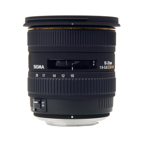 Sigma 10-20 mm f4-5.6 EX DC for SLR Cameras with 4/3rd mount