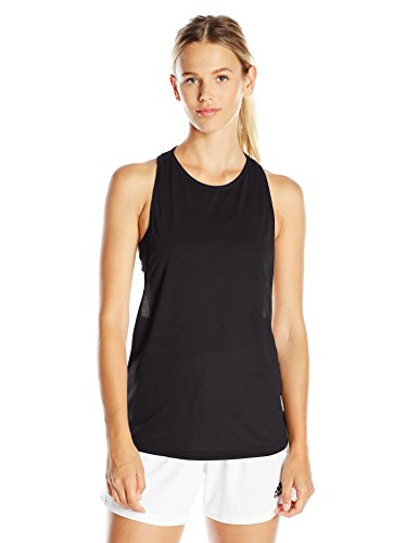 adidas Women's Performer Tank Top, Large, Black