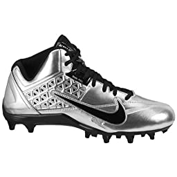 Nike Speedlax 4 US Men\'s 8 M (MetallicSilver/Black)