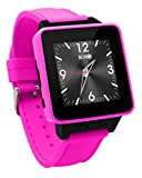 BURG Neon 16A Smartwatch Phone with SIM Card for iOS and Android - Pink