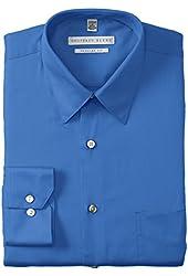 Geoffrey Beene Men's Regular-Fit Sateen Dress Shirt