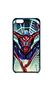 Spide Man Hanging Over The Building Case For Iphone 5c