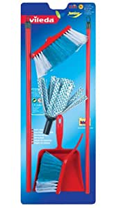 Theo Klein Toy Vileda Mop and Dustpan and Brush  Set
