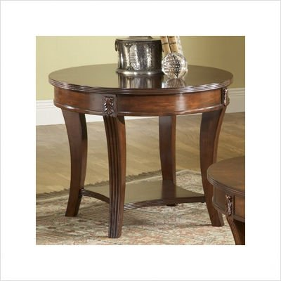 Cheap Bernards Wellington Cherry End Table (B002IR5UQC)