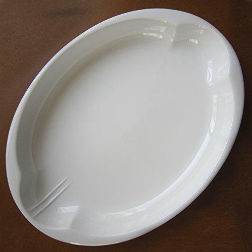 有田焼 パスタやカレーが食べやすいユニバーサルデザイン食器 【DAEN240jiki】 (単品(1枚)販売)【サマーキャンペーン特別価格9/30まで】