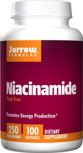 Jarrow Formulas Niacinamide 250mg, 100 Capsules (Pack of 3)