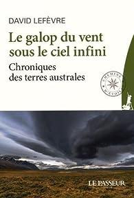 Le galop du vent sous le ciel infini par David Lefèvre