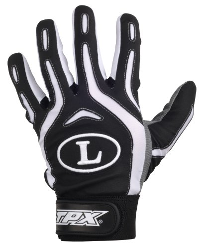Louisville Slugger TPX Pro Design Series Batting Glove (Large, Black)