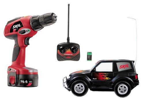 Skil 2566-06 14.4-Volt Cordless Drill with RC Car