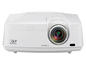 Mitsubishi FD730U 3D Ready DLP Projector 1080p HDTV 16:9 1920x1080 Full HD 3000:1 4100 lumens HDMI VGA Ethernet