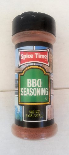 Bbq Seasoning By Spice Time Barbeque Spices & Herbs 8 Oz... Amtc