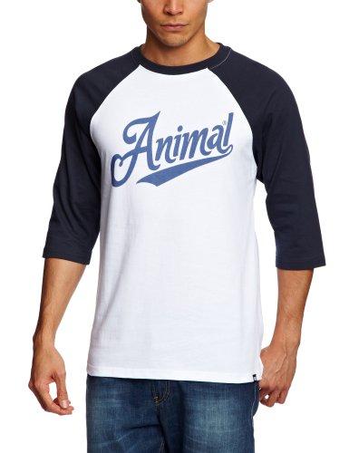 Animal Uri Men's Sweatshirt White Small - CL3SC043-001-S