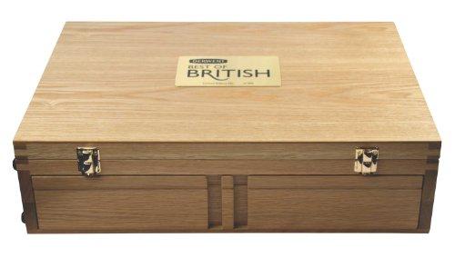 Derwent The Best of British Wooden Pencil Box