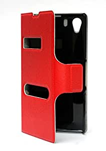 Generic VAVA Series Calling Case for Lenovo Vibe X (Red)