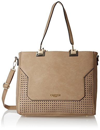 Carlton-London-Womens-Handbag-Khaki-CLLP-109
