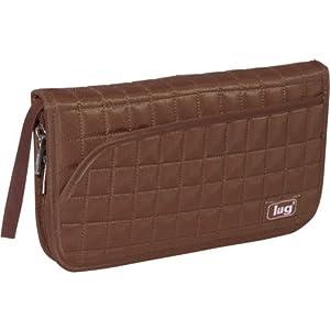 Lug Tango Travel Wallet, Chocolate Brown