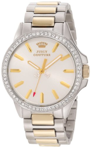 Juicy Couture Women's 1901023 Jetsetter Gold Two Tone Bracelet Watch