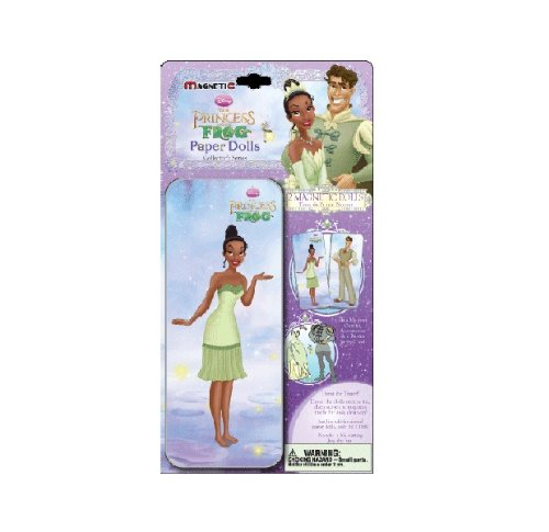 Disney's Princess and the Frog Magnetic Paperdoll Tin Set