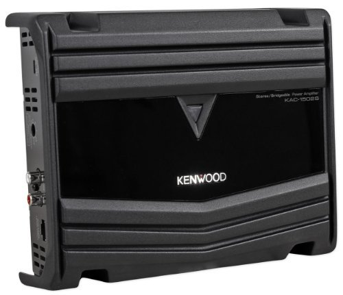 Kenwood KAC-1502S 350W 2-Channel Bridgeable Class A/B Car Audio Amplifier Amp Built-In Low-Pass Filter