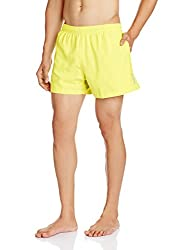 Reebok Men's Synthetic Shorts (4057283285668_AF1959_Small_Yellow)