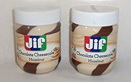 Jif Chocolate Cheesecake Hazelnut Spread 13 Ounce - (2 Pack)