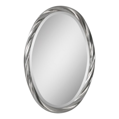 Ren-Wil Ren-Wil Wiltshire Wall Mirror - 20W X 30H In., Silver, Resin/Acrylic front-34095