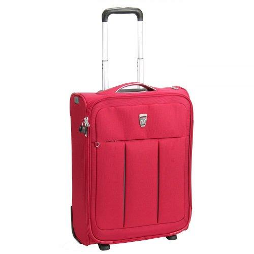 Roncato Polylight valigia da cabina a 2 ruote 55 cm fucsia