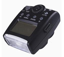 Olympus Evolt E-420 Compact LCD Mult-Function Flash (TTL, M, Multi)