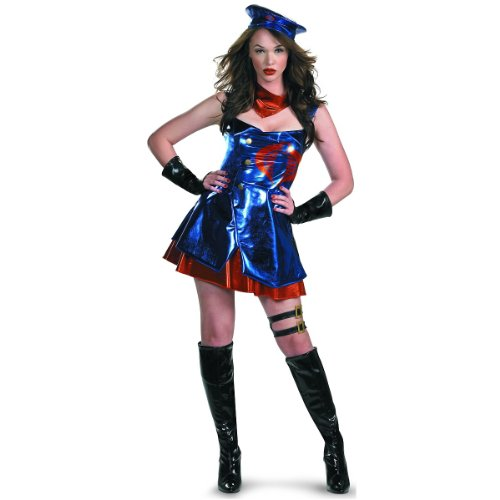 Sassy Cobra Commander Deluxe Costume - Large - Dress Size 12-14