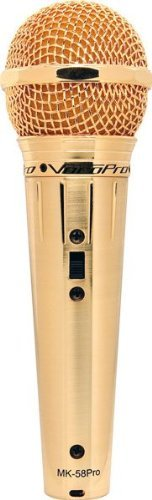 Vocopro Gold58 Dynamic Microphone, Cardioid