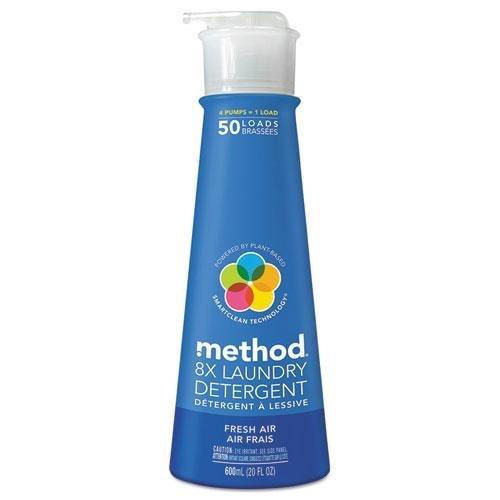 METHOD PRODUCTS INC. Laundry Detergent, Fresh Air, 20oz Bott