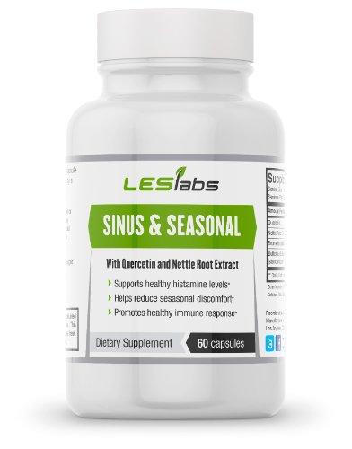 Sinus Health & Seasonal Discomfort Formula By LES Labs (60