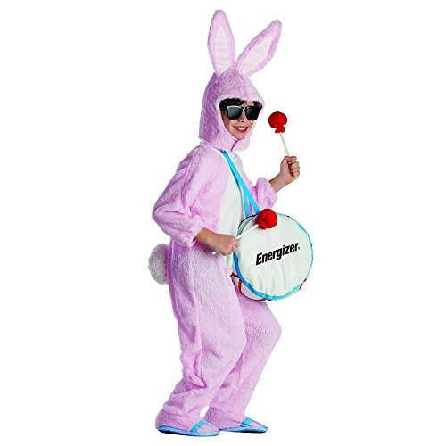 [Energizer Bunny Mascot Costume - Size Medium 8-10 by Dress Up America] (Energizer Bunny Costumes)