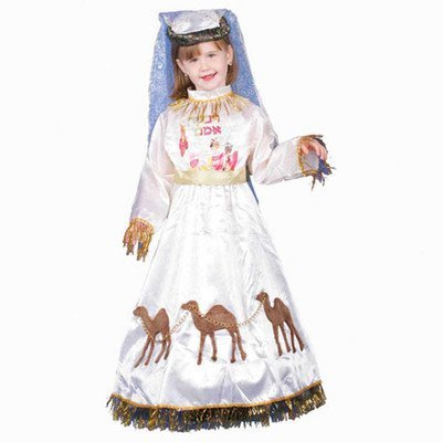 Jewish Mother Rivkah Children's Costume Size: Large by Dress Up America ()