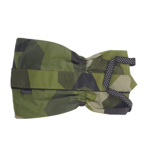 Pair Waterproof Outdoor Hiking Climbing Snow Gaiter Leg Cover--green Camouflage