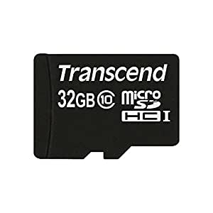 Transcend Information TS32GUSDC10 32GB micro SDHC10 Flash Memory - No Box or Adapter