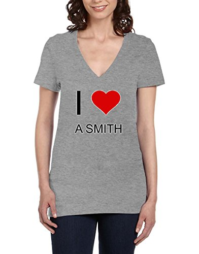 i-love-a-smith-womens-v-neck-t-shirt-xx-large