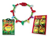 Lotsa Lites Flashing Holiday Bracelet Magnetic