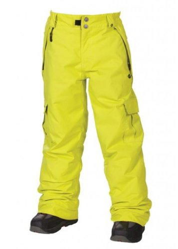 686 Ridge Insulated Snowboard Pant Acid XL -Kids