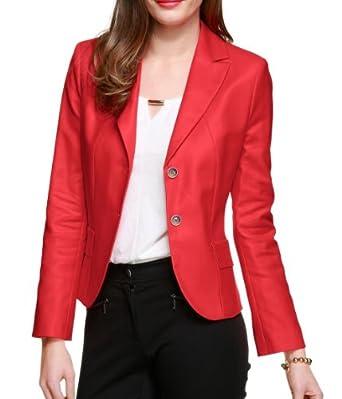 s oliver selection damen blazer gr 34 rot 3071 bekleidung. Black Bedroom Furniture Sets. Home Design Ideas