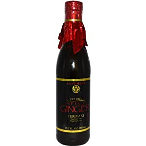Marinade And Dipping Sauce Spicy Ginger Teriyaki Sauce 127 Fl Oz 3 from East-West Specialty Sauces