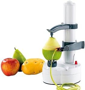 Rosenstein & Söhne Elektrischer Obst- und Gemüseschäler